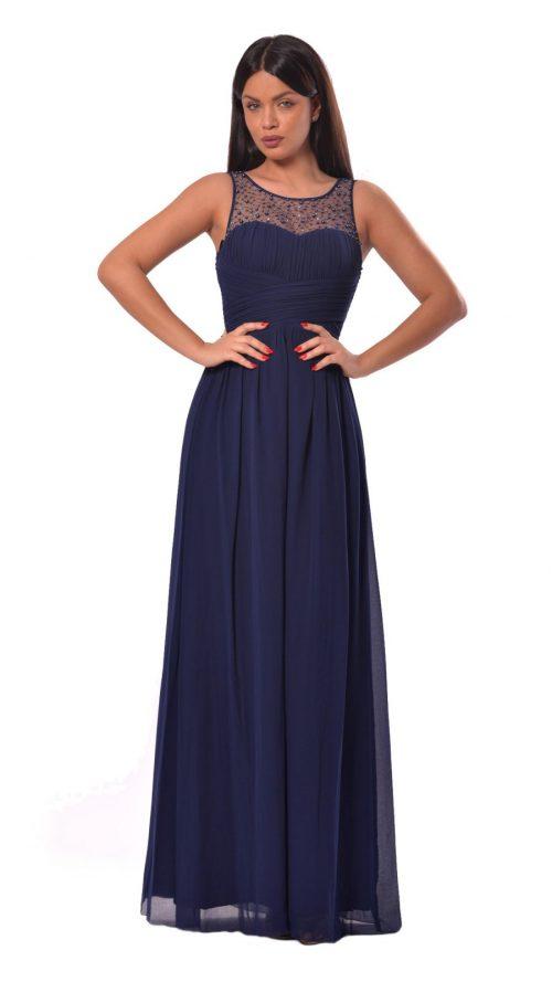 Rochie maxi albastra